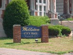Wellston City Hall Sign