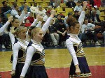 WHS Rocket Cheerleaders drum up spirit