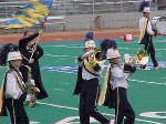 The WHS Marching Band plays at State Competition in Dayton